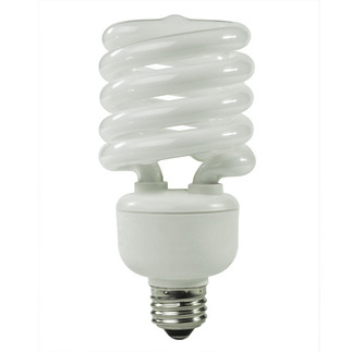 (277 Volt) 32 Watt - 130 W Equal - Warm White 2700K - CFL Light Bulb - TCP 28932-27277