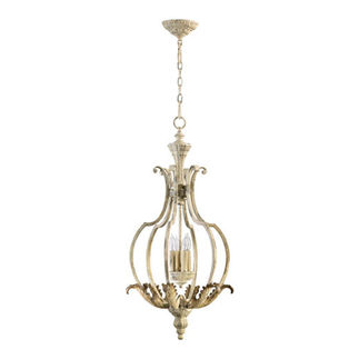 Quorum 6837-4-70 - Medium Foyer Pendant - 4 Light - Persian White