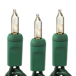 (10) Bulbs - Clear Mini Lights - Length 6 ft.