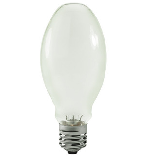 320 Watt - ED28-P - White Coated - Pulse Start - Metal Halide - Protected Arc Tube - 4000K - Mogul Base - ANSI M154/O or M132/O or M131/O - Base Up Burn - Plusrite 1614 ED28-P Metal Halide