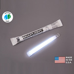 6 in. SnapLight Light Sticks - White - Hi-Intensity - 30 Minutes - Industrial Grade - Cyalume 9-08017