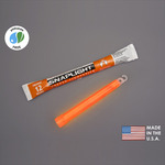 6 in. SnapLight Light Sticks - Orange - 12 Hours - Industrial Grade - Cyalume 9-08005