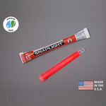 6 in. SnapLight Light Sticks - Red - 12 Hours - Industrial Grade - Cyalume 9-08002