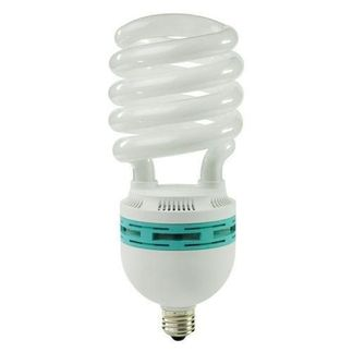 105 Watt - CFL - 420 W Equal - 5000K Full Spectrum - Min. Start Temp. 0 Deg. F - 80 CRI - 68 Lumens per Watt - 15 Month Warranty - Global Consumer Products 0170