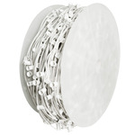 C7 Stringer - 1,000 Foot - 1,000 Sockets - 12 in. Spacing - White Wire - Commercial Christmas Lights - Superior Holiday Lighting C7100012WW C7 Christmas Light Spool