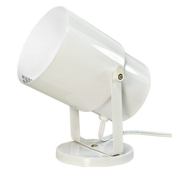 Satco 77 395 multi purpose spot light white for a19 for Multi spotlight floor lamp