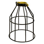 PLT MC200 - Metal Lamp Guard - Black - Replacement Cage