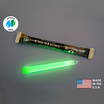 NSN 6260-01-074-4229 - 6 in. ChemLight Light Sticks - Green - 12 Hours - Military Grade - Cyalume 9-42290PF