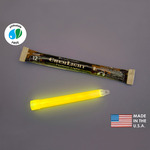 NSN 6260-01-196-0136 - 6 in. ChemLight Light Sticks - Yellow - 12 Hours - Military Grade - Cyalume 9-01360PF