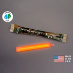 NSN 6260-01-195-9753 - 6 in. ChemLight Light Sticks - Orange - 12 Hours - Military Grade - Cyalume 9-97530PF