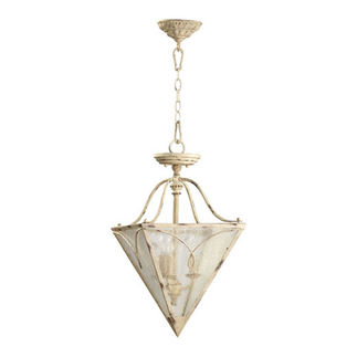 Quorum 2806-18-70 - Inverted Pendant - 3 Light - Persian White