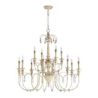 Quorum 6106-12-70 - Chandelier - 12 Light - Persian White