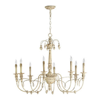 Quorum 6106-8-70 - Chandelier - 8 Light - Persian White