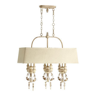 Quorum 6506-6-70 - Island Pendant - 6 Light - Persian White