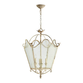 Quorum 6906-4-70 - Foyer Pendant - 4 Light - Persian White