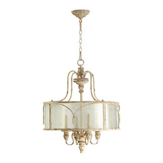 Quorum 8006-4-70 - Foyer Pendant - 4 Light - Persian White