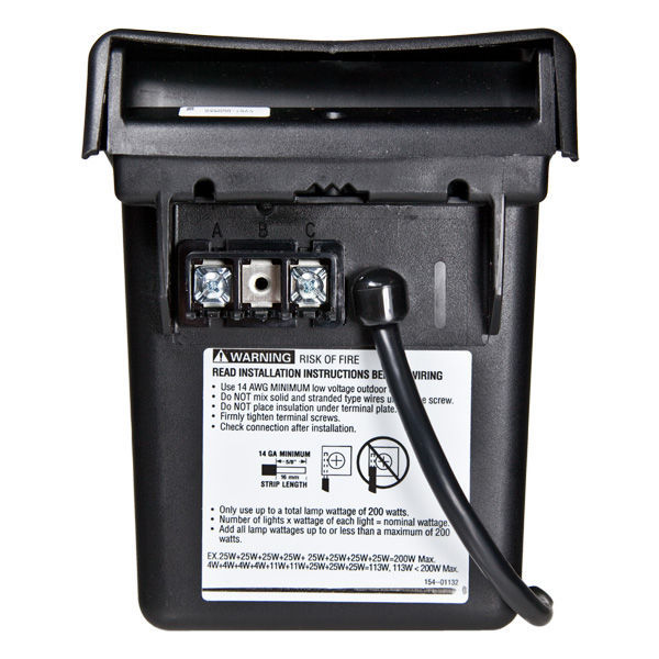 Intermatic ml121rt 12v transformer with timer 121w for Intermatic landscape lighting