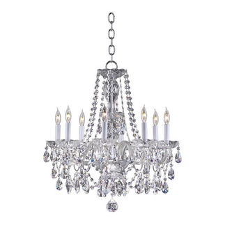Quorum 630-5-514 - Chandelier - 8 Light - Chrome