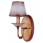(1 Light) Vanity - Newport Copper / Autumn Haze Glass - Nuvo Lighting 60-1648