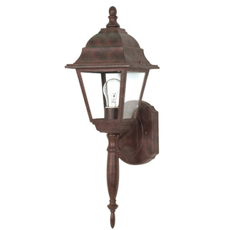 (1 Light) Wall Lantern - Old Bronze / Clear Seed Glass - Nuvo Lighting 60-541