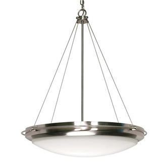 (3 Light) Pendant - Brushed Nickel / Satin Frosted Glass - Nuvo Lighting 60-610